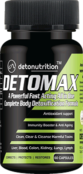 DETOMAX CAPSULES - All in One Complete Body Detoxification Formula