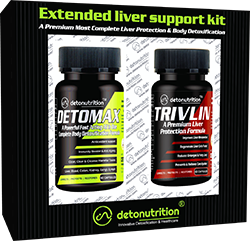 EXTENDED LIVER SUPPORT KIT - Liver and Kidney Cleanse Supplements