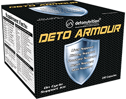 DETO ARMOUR KIT - Best Supplements for Muscle Gain