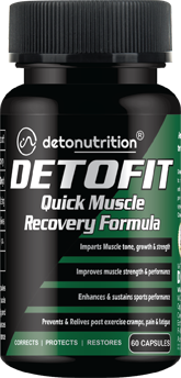 DETOFIT CAPSULES - Muscle Recovery & Strength Boosting Capsules