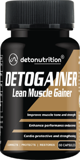 DETO GAINER CAPSULES - Lean Muscle & Weight Gainer Capsules