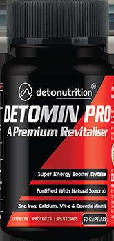 DETOMIN PRO CAPSULES - A Premium Multi Mineral & Revitaliser